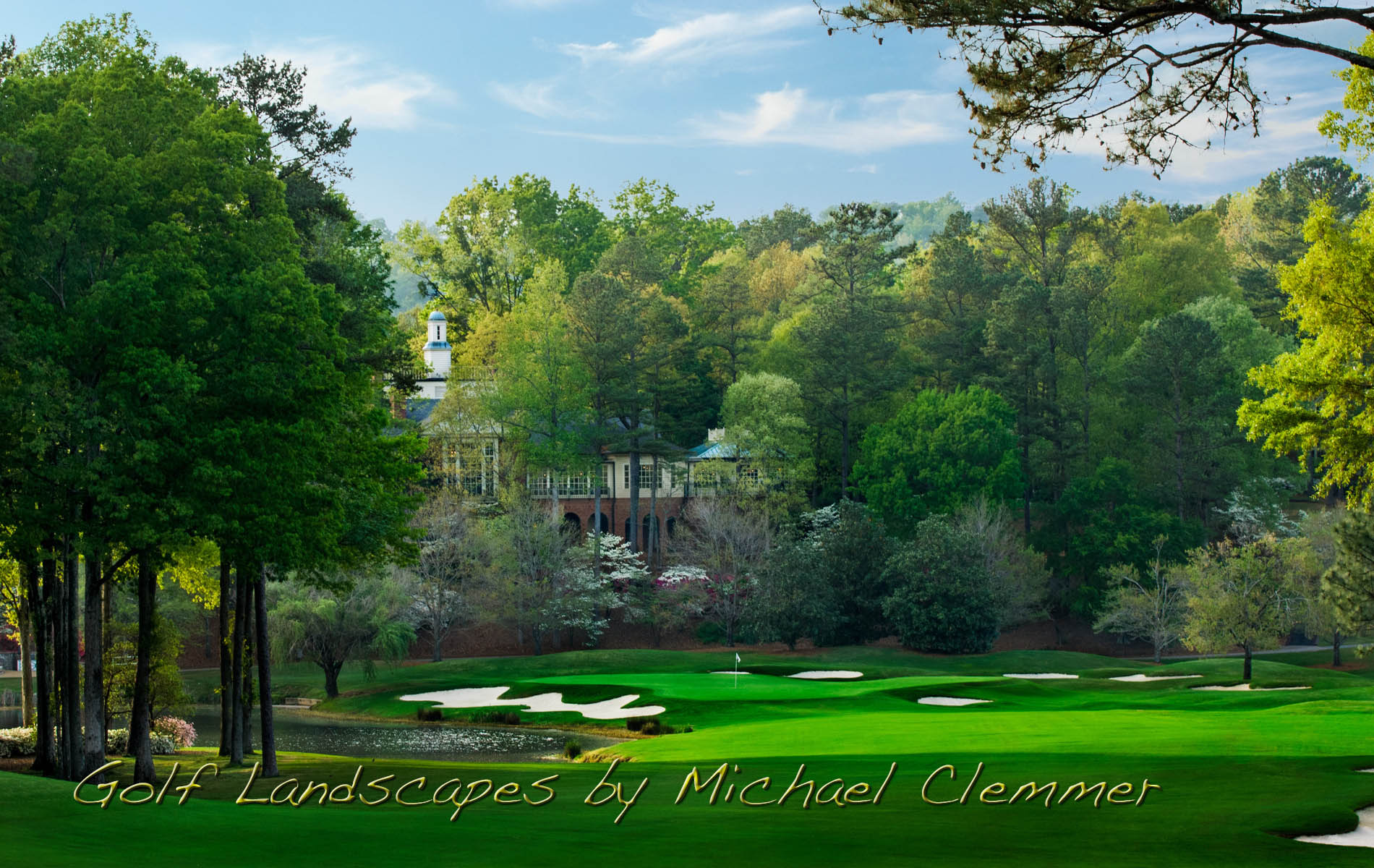 Golf course photographer golf course photography for Shoal creek