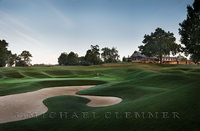 Country Club of Birmingham, AL, West Course, 18. Pete Dye, architect.