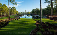 Naples National Golf Club, Number 3, Naples, Florida. Hurdzan/Fry, architects.