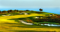Pelican Hill Golf Club, Ocean North 17, Newport Beach,CA.