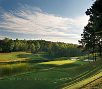 Ross Bridge 14. Robert Trent Jones Golf Trail, Birmingham, AL. Roger Rulewich/Bobby Vaughn, Architects