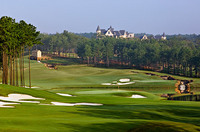 Ross Bridge 17, Birmingham, AL. Robert Trent Jones / Bobby Vaughn, Architects