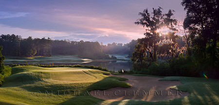 Cambrian Ridge ~ Short Course, No. 4. Robert Trent Jones Golf Trail, Greenville, AL