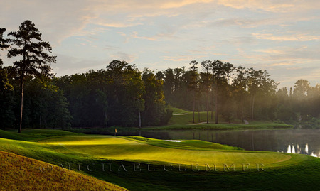 Cambrian Ridge ~ Sherling Course, No. 5. Robert Trent Jones Golf Trail, Greenville, AL