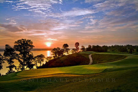 Fighting Joe ~ 18, Sunrise, The Shoals, Robert Trent Jones Golf Trail ~ Alabama