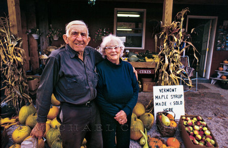 "Proud Vermont Couple, National Geographic ""America's Great Journeys."""