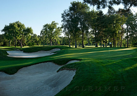 Denver Country Club, No. 16, Gil Hanse, Bunker Renovation