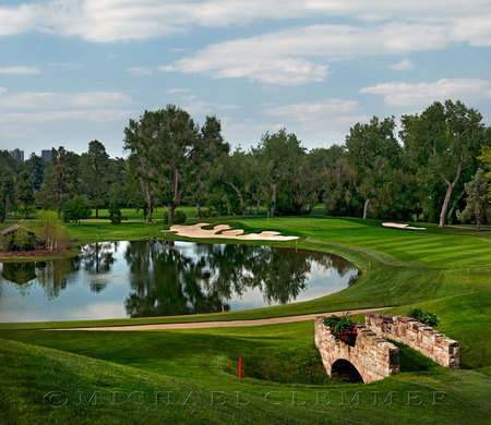 Denver Country Club, No. 5, Gil Hanse, Bunker Renovation