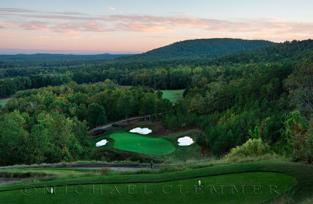 FarmLinks Golf Club, No.5. Sylacauga, AL, Hurdzen/Fry architects.