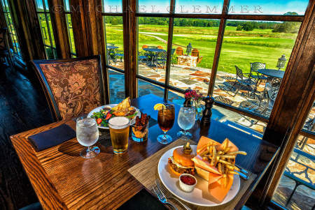 Farm-to-Table Longhorn Burger, FarmLinks Golf Club