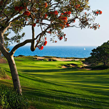 Pelican Hill Golf Club, Ocean South 11, Newport Beach,CA.